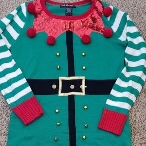 Amazing Elf sweater dress